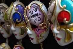 Máscara veneciana del carnaval Foto de archivo libre de regalías