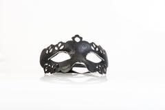 Máscara veneciana del carnaval en el fondo blanco Fotografía de archivo libre de regalías