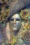 Máscara veneciana del carnaval, Venecia Imagen de archivo