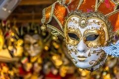 Máscara veneciana - Italia Fotos de archivo