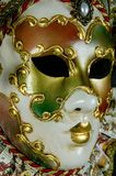 Máscara veneciana misteriosa Imagen de archivo libre de regalías