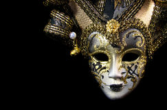 Máscara Venetian bonita Imagem de Stock