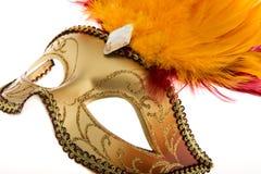 Máscara Venetian, carnaval fotografia de stock