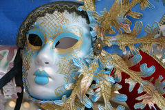 Máscara Venetian colorida Imagens de Stock