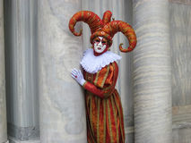 Máscara Venetian do carnaval Foto de Stock Royalty Free