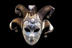 Máscara Venetian do carnaval foto de stock royalty free