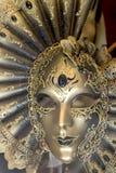Máscara Venetian do carnaval, Veneza Fotografia de Stock