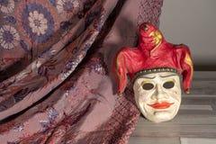 Máscara Venetian para o carnaval imagem de stock royalty free
