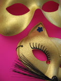 Máscaras 1 del partido Imagen de archivo