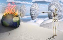 máscaras stock de ilustración