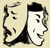 Máscaras Foto de Stock