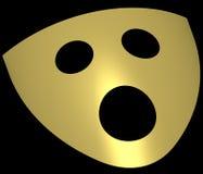 Máscaras 3 del teatro Imagen de archivo libre de regalías