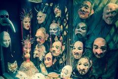 máscaras Foto de archivo libre de regalías