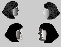 Máscaras Imagens de Stock