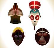 Máscaras africanas Fotos de archivo
