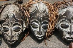 Máscaras africanas Fotografia de Stock Royalty Free