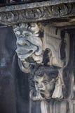 Máscaras barrocas en Catania Sicilia Imagenes de archivo