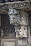 Máscaras barrocas en Catania Sicilia Imagen de archivo