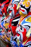 Máscaras chinesas da ópera Foto de Stock