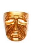 Máscaras com o conceito do teatro Imagem de Stock