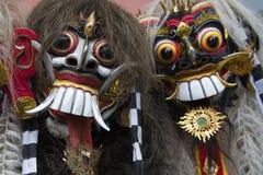 Máscaras de Bali fotos de stock