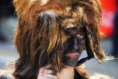 Máscaras de Cerdeña foto de archivo libre de regalías