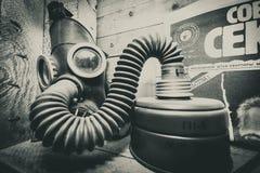 Máscaras de gás 3 Fotos de Stock Royalty Free