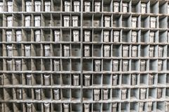 Máscaras de la mina del vintage Foto de archivo