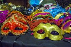 Máscaras de Mascurade Foto de archivo