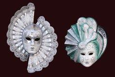 Máscaras de Venecia Fotos de archivo libres de regalías