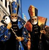 Máscaras de Venecia Fotografía de archivo