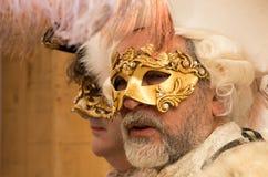 Máscaras de Venecia, carnaval 2017 foto de archivo