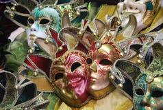 Máscaras de Venecia - el mercado del camino de Portobello en Londres Foto de archivo libre de regalías