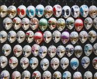 Máscaras de Veneza na venda Imagem de Stock Royalty Free