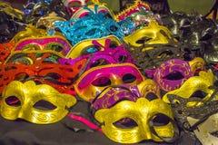 Máscaras decorativas de la mascarada Fotografía de archivo