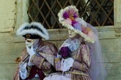Máscaras del carnaval de Venecia Fotos de archivo libres de regalías