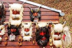 Máscaras del diablo Imagen de archivo libre de regalías
