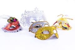 Máscaras del grupo Fotografía de archivo libre de regalías