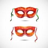 Máscaras del partido Imagenes de archivo