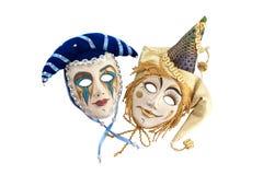 Máscaras del teatro Foto de archivo libre de regalías