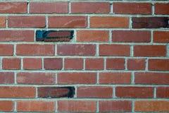 Máscaras do backgrounda marrom da parede de tijolo Foto de Stock Royalty Free