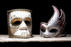 Máscaras do carnaval fotos de stock royalty free