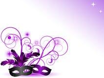 Máscaras do carnaval Fotografia de Stock
