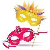 Máscaras do carnaval Foto de Stock Royalty Free