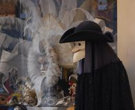 Máscaras do carnaval em Veneza Foto de Stock