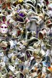 Máscaras do carnaval na exposição em Veneza, Itália Fotografia de Stock