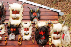 Máscaras do diabo Imagem de Stock Royalty Free