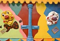 Máscaras do palhaço Fotos de Stock