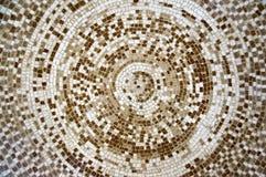 Máscaras do teto do mosaico, as brancas e as marrons da cor fotos de stock royalty free