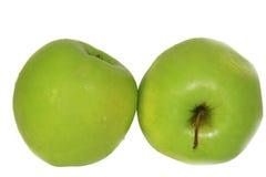 Máscaras do verde isolates Imagem de Stock